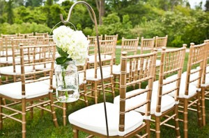 Rustic Event with Chiavari Chairs