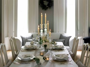 Elegant Holiday Dinner from Liberty Event Rentals
