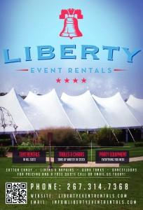 Liberty Event Rentals Flyer