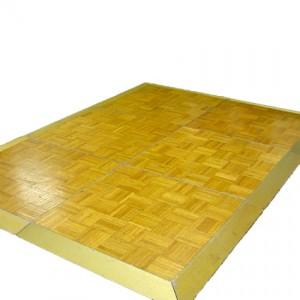 Light Wood Parquet Dancefloor