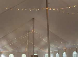 Tent Lighting 2 - Liberty Event Rentals