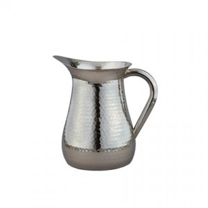72oz Stainless Hammered Pitcher