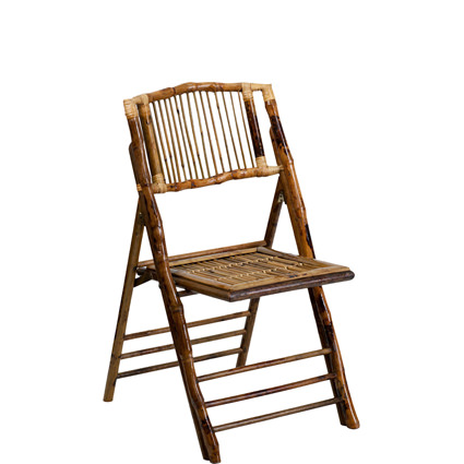 Bamboo Folding Chair - Liberty Event Rentals