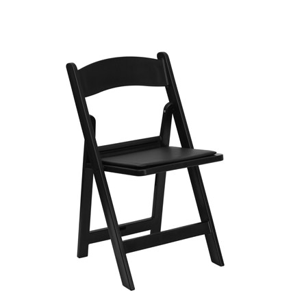 Black Padded Chair