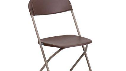 Brown Folding Chair
