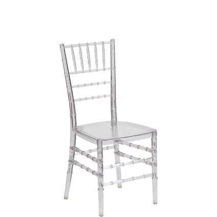 Clear 'GHOST' Chiavari Chair