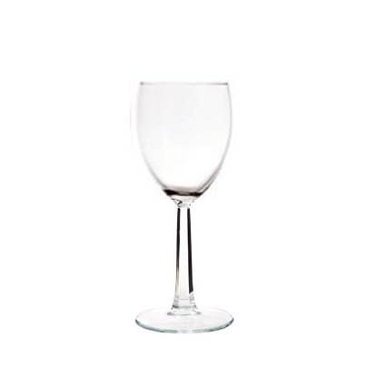 Facet Cut Stem Wine Glass 10oz