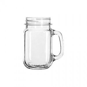 Mason Jar with Handle 16oz