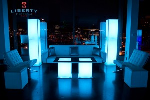 Modern New Years Eve Lounge Furniture Rentals