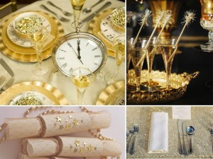New Years Eve Gold Theme
