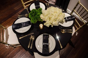 Black and Gold Event 1 - Liberty Event Rentals