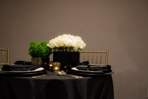Black and Gold Event 2 - Liberty Event Rentals