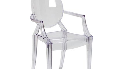 Ghost Chair with Arms - Liberty Event Rentals