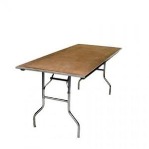 6foot Long Table - Liberty Event Rentals