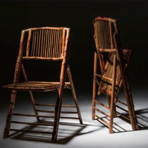 Bamboo Folding Chair (Spotlight) - Liberty Event Rentals