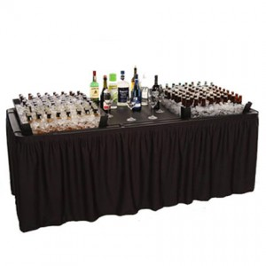 Chilling Table (Party Setup) - Liberty Event Rentals
