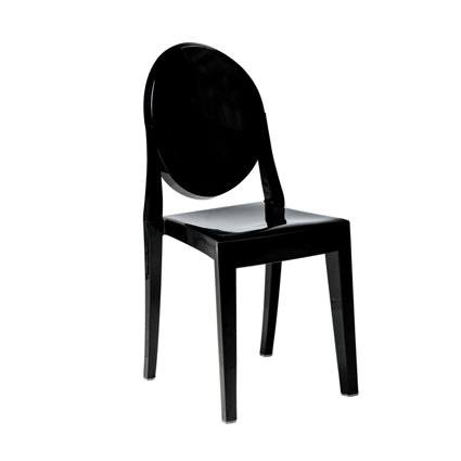 Ghost Chair Black - Liberty Event Rentals
