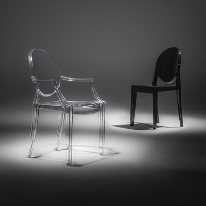 Ghost Chairs (Spotlight) - Liberty Event Rentals