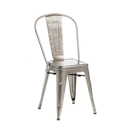Monroe Gunmetal Chair (ALT View) - Liberty Event Rentals