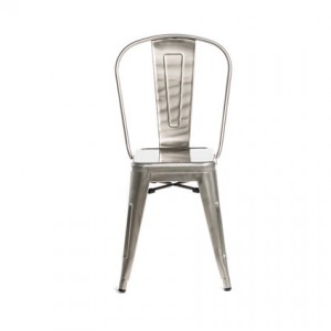 Monroe Gunmetal Chair - Liberty Event Rentals