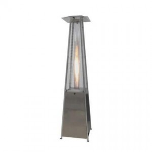 Outdoor Pyramid Flame Heater - Liberty Event Rentals
