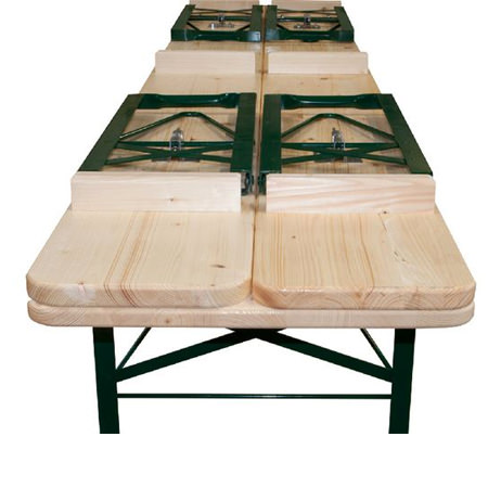 Beer Garden Table Bench Set Liberty Event Rentals