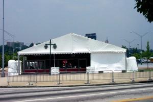 Stadium Parking Lot Tent