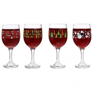 Christmas Theme Glasses