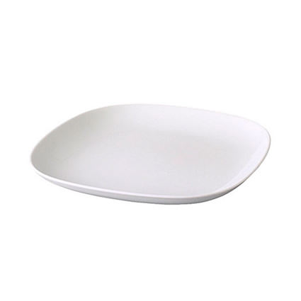 Modern White China (Plate)- Liberty Event Rentals