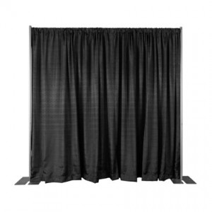 Pipe and Drape Rental (1 section) - Liberty Event Rentals