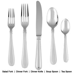 Ford Flatware Line Description - Liberty Event Rentals