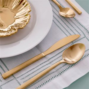 Kennedy Flatware Line Display - Liberty Event Rentals