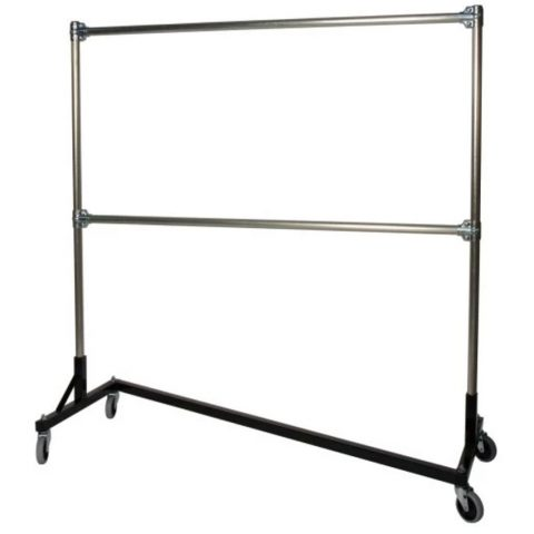 5ft Coat Rack 'Z Base' - Liberty Event Rentals